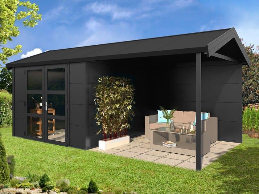 Casetta Giardino In Alluminio : Casetta per giardini in alluminio cabina da esterno con porticato