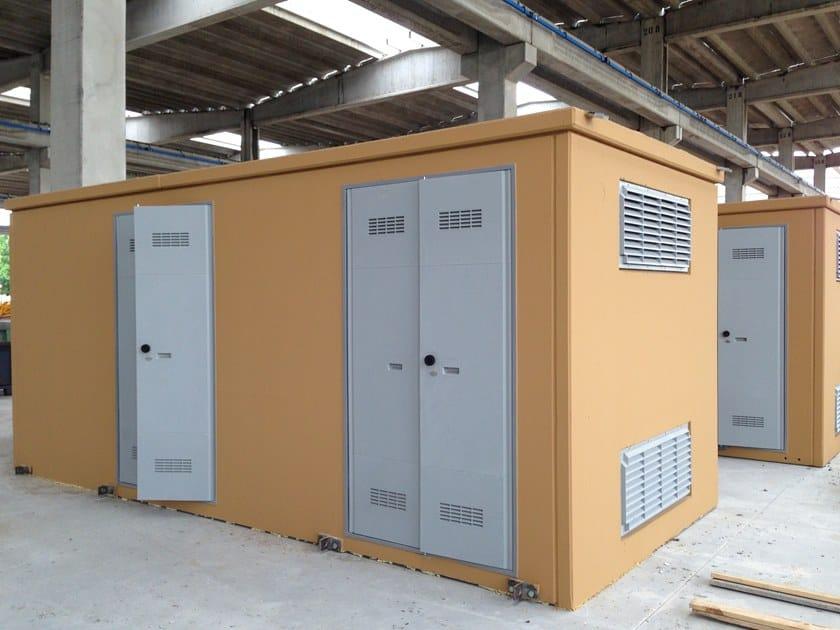 Enel substation cabin DG2061 ED VII by Betoncablo