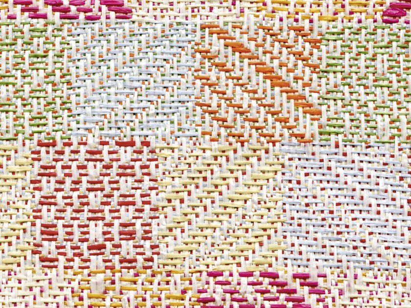 Jacquard upholstery fabric with graphic pattern CABO POLONIO by Élitis