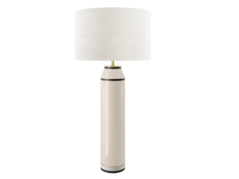 Indirect light wooden table lamp CACERES by FRATO
