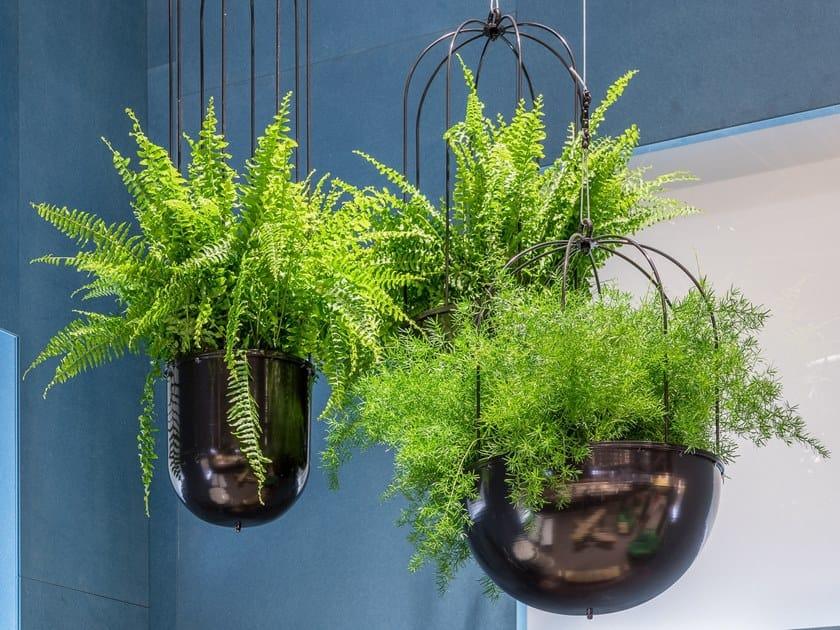 Hanging round plant pot CACTI   Hanging plant pot by Nola Industrier