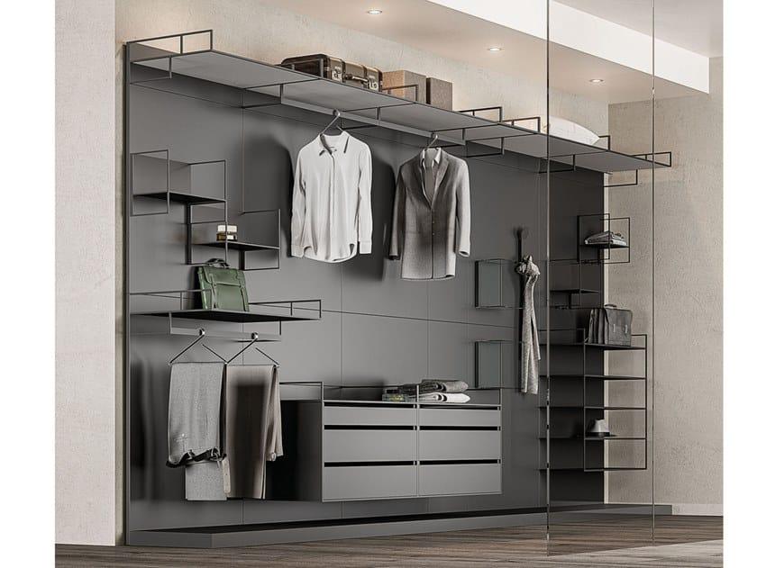 Cabina armadio in metallo su misura CADDY WARDROBE by Ronda Design