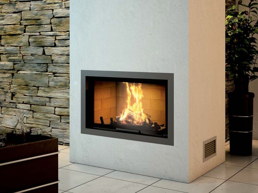 Steel Fireplace Mantel CADRE DESIGN by Axis