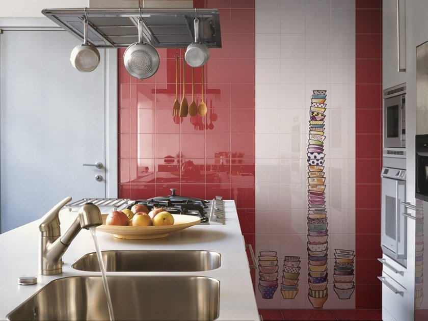 Indoor ceramic wall tiles CAFFELATTE by Ceramica Bardelli