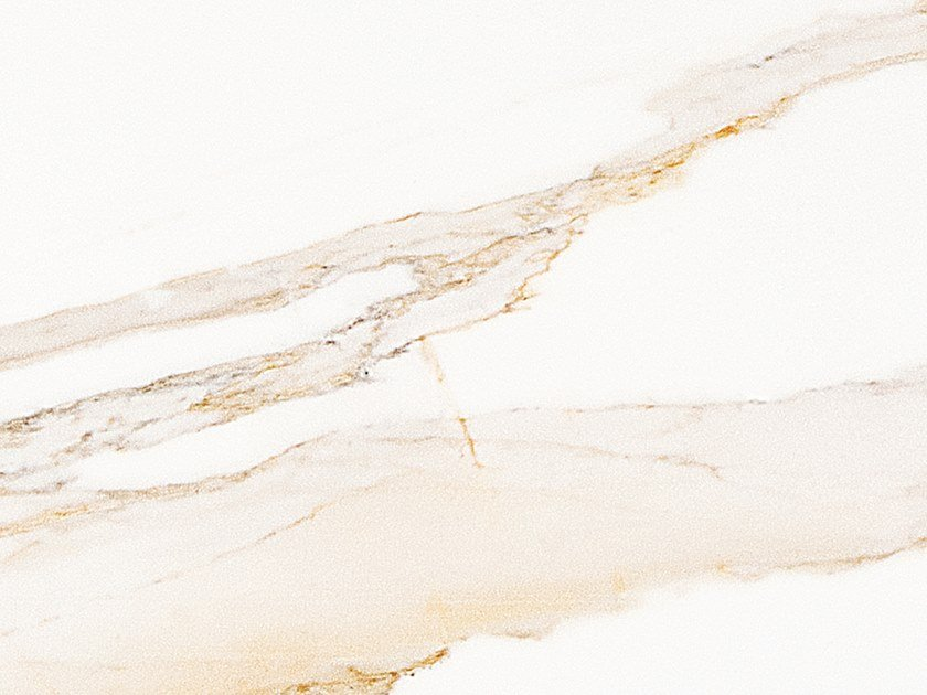 Porcelain stoneware wall/floor tiles with marble effect CALACATA GOLD PULIDO by PORCELANOSA