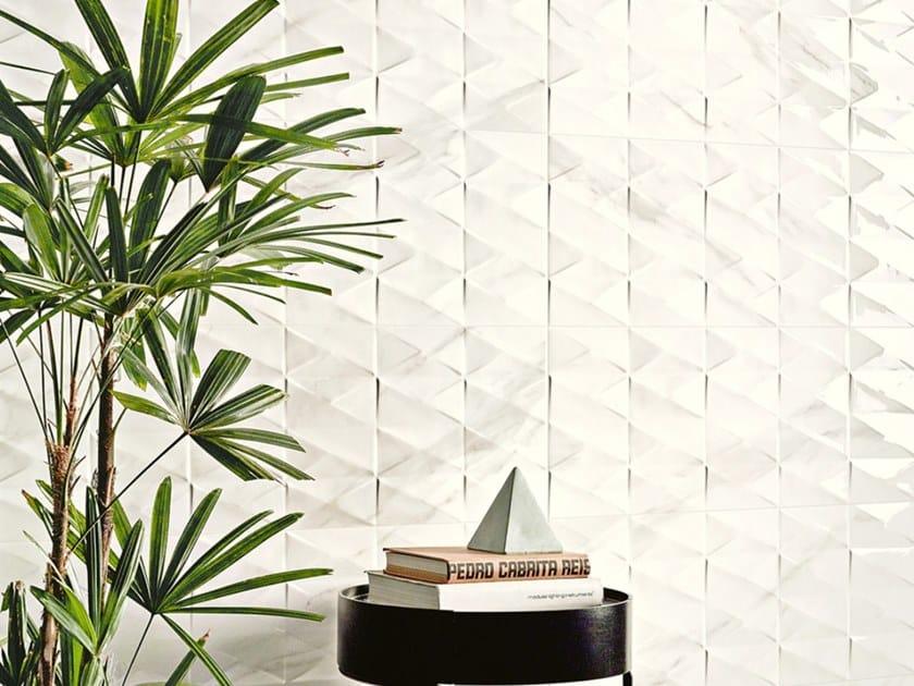 Indoor ceramic wall tiles CALACATTA BIANCO by Revigrés