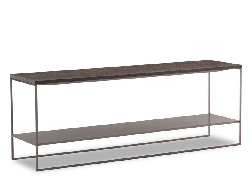 Coffee table CALDER BRONZE SIDE TABLES by Minotti