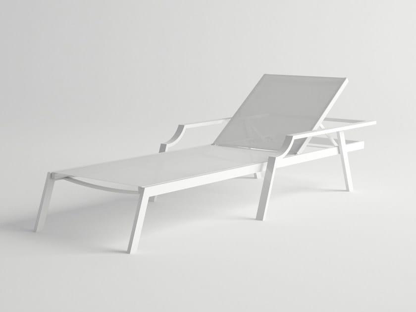 Recliner aluminium garden daybed CALDERA | Garden daybed by 10Deka