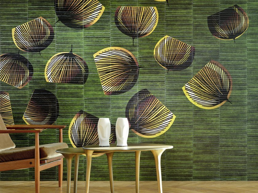 Washable panoramic vinyl wallpaper CALIFORNIA DREAMS by Élitis