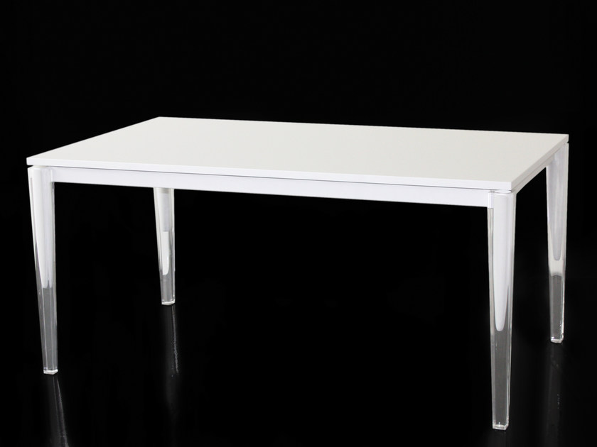 Rectangular MDF table CALIPPO | Table by Magis