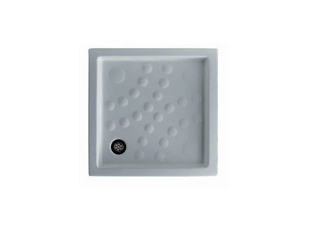 Anti-slip square shower tray CALIPSO by GALASSIA