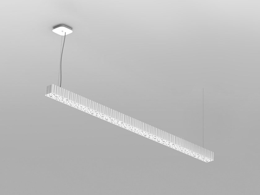 LED technopolymer pendant lamp CALIPSO LINEAR STAND ALONE | Pendant lamp by Artemide