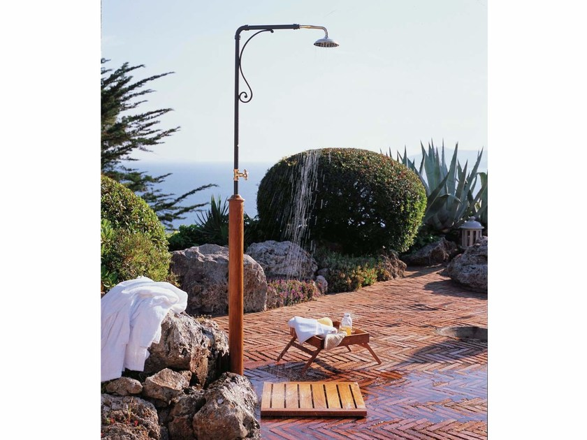 Iron outdoor shower CALIPSO by Unopiù