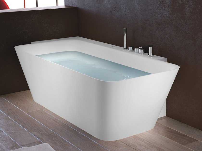 Superieur Corner Rectangular Tecnoril® Bathtub CALLE | Rectangular Bathtub By Gruppo  Geromin