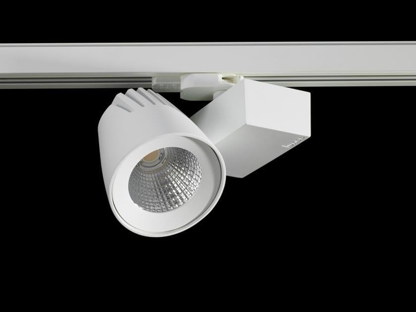 Illuminazione a binario a LED in alluminio verniciato a polvere CALLISTO MINI by LUNOO