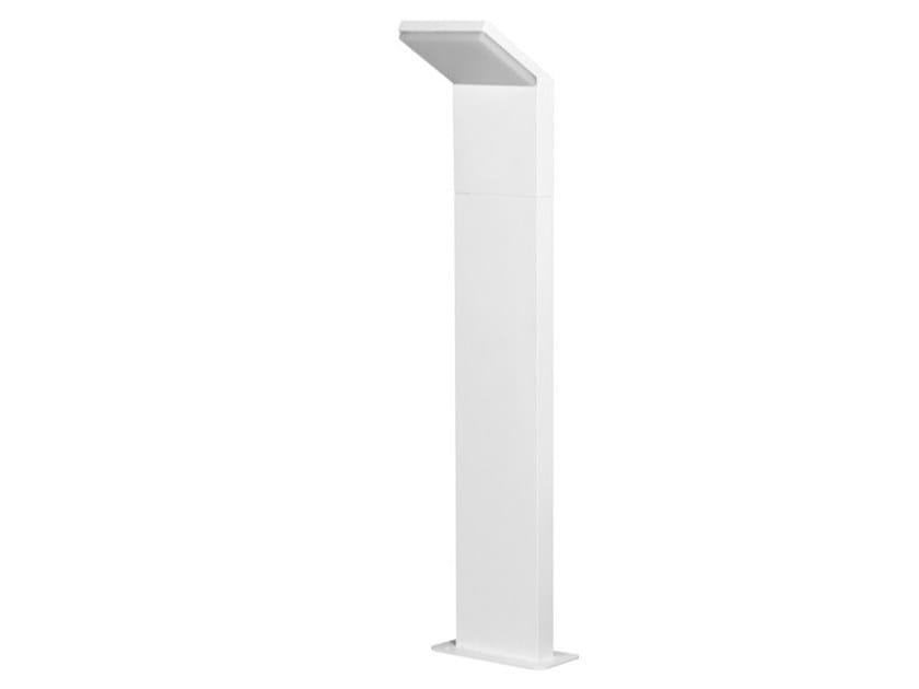 Paletto luminoso a LED in alluminio CAM by BENEITO FAURE