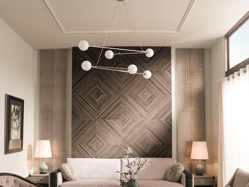 Ceramic wall tiles with wood effect CAMDEN by Venis