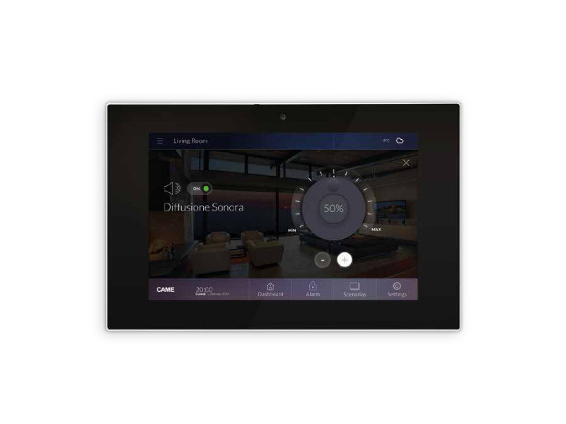 Home automation system for audio / video for households CAME DOMOTIC 3.0 | Home automation system for audio / video by CAME