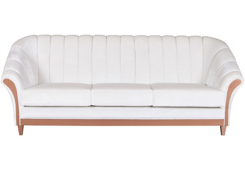 3 seater velvet sofa CAMILLA | Velvet sofa by Green Apple
