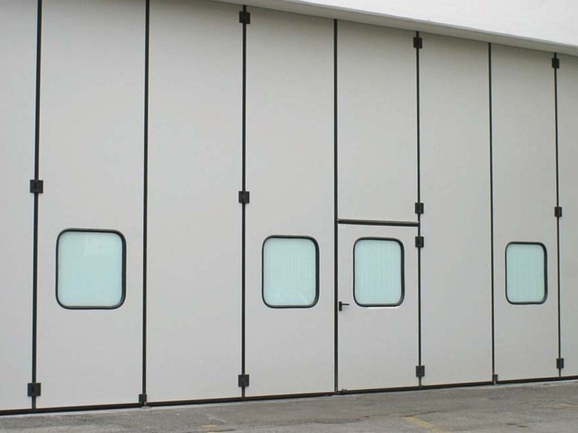 Industrial folding door CAMPISAFOLD by CAMPISA