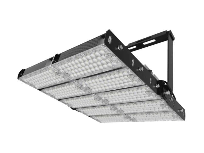 Proiettore per esterno a LED orientabile in alluminio CAMPO 1200 by NEXO LUCE