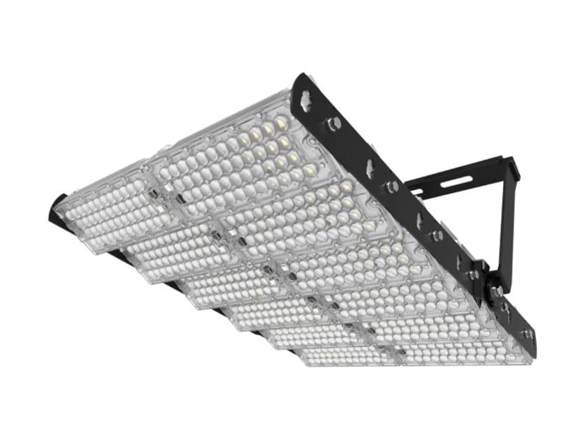 LED adjustable aluminium Outdoor floodlight CAMPO 1440 by NEXO LUCE