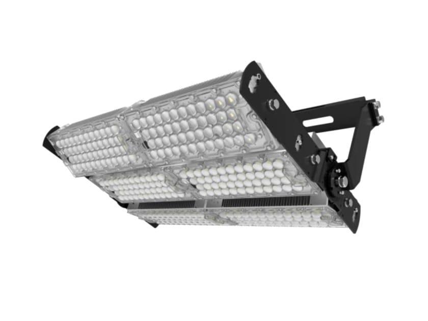 Proiettore per esterno a LED orientabile in alluminio CAMPO 720 by NEXO LUCE