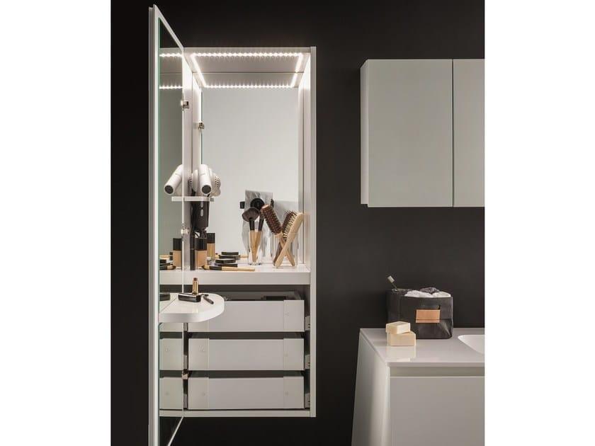 Tall Bathroom Cabinet CAMPUS | Tall Bathroom Cabinet By Birex