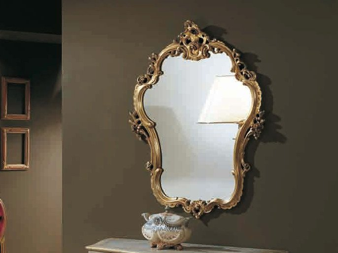 Wall-mounted framed mirror CANALETTO | Mirror by Arvestyle