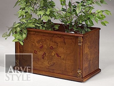 Solid wood planter CANALETTO | Planter by Arvestyle