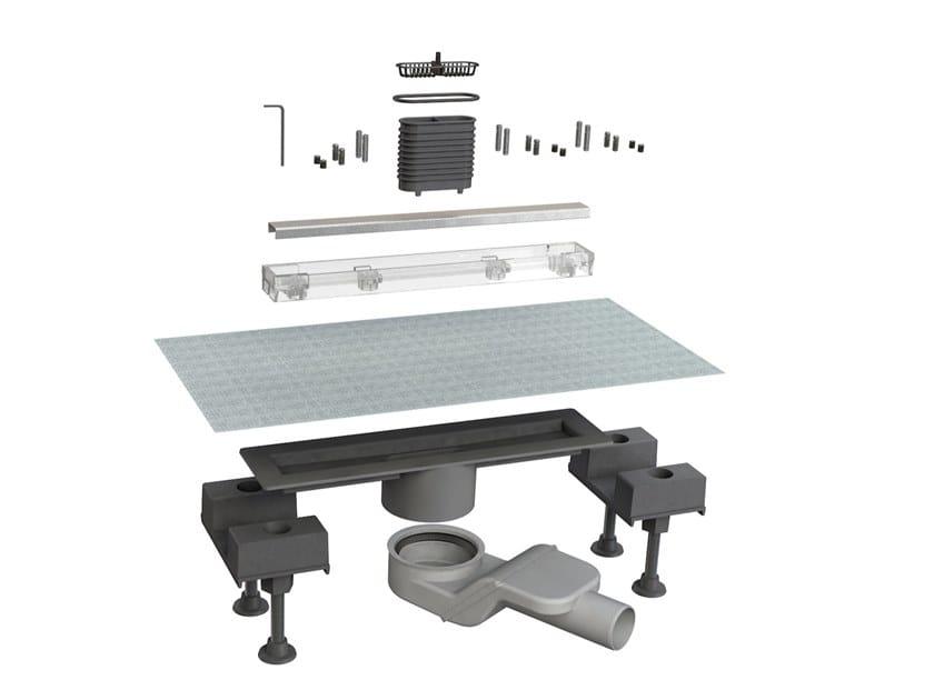 Scarico per doccia in acciaio inox CANALISSIMA 6825HX30S by Bonomini