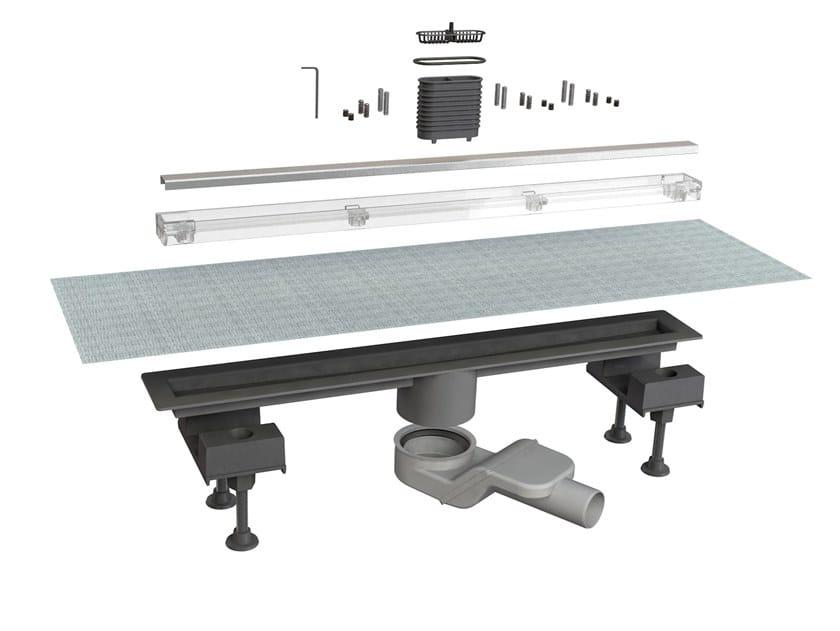 Scarico per doccia in acciaio inox CANALISSIMA 6825HX60S by Bonomini