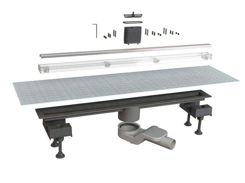 Scarico per doccia in acciaio inox CANALISSIMA 6825HX70S by Bonomini