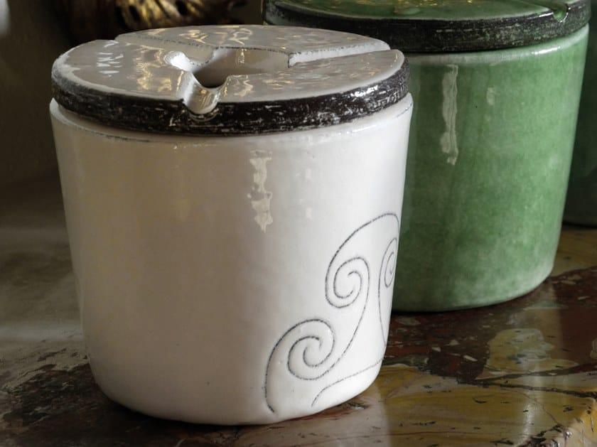 Ceramic ashtray OT07026 | Ashtray by Cerasarda