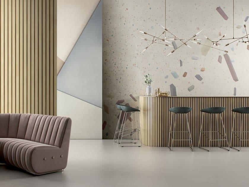 Geometric GlamFusion™ wallpaper CANDY by GLAMORA