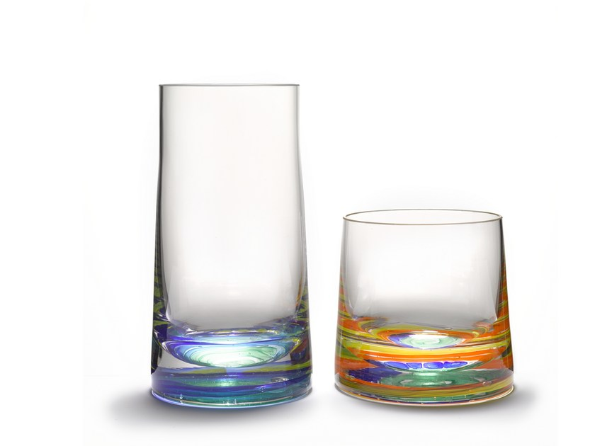 Blown glass glass CANDY | Glass by Lasvit