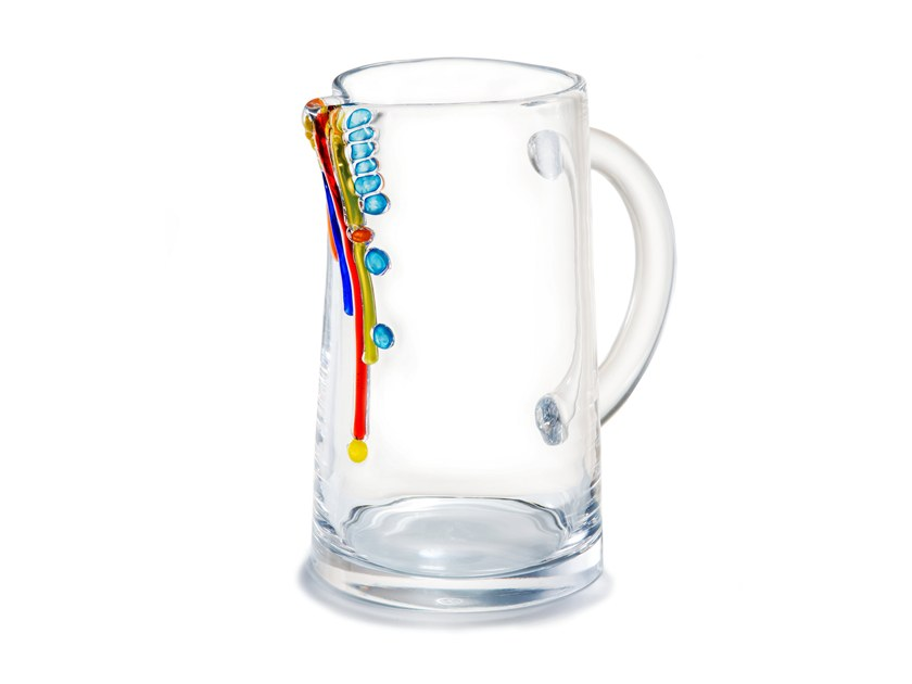 Blown glass jug CANDY   Jug by Lasvit