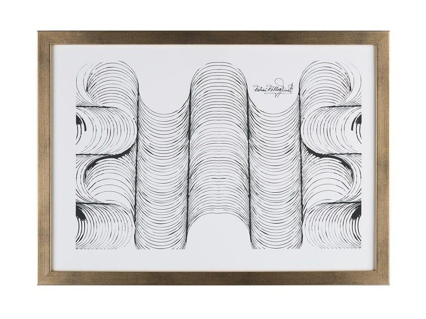 Contemporary style Print on paper CANELONES L by Hamilton Conte Paris