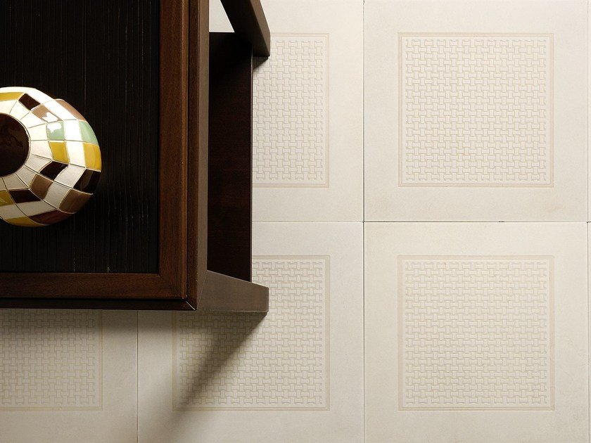 Natural stone wall/floor tiles CANESTRATO BEIGE by TWS