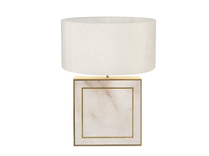 Indirect light brass table lamp CANNES by FRATO