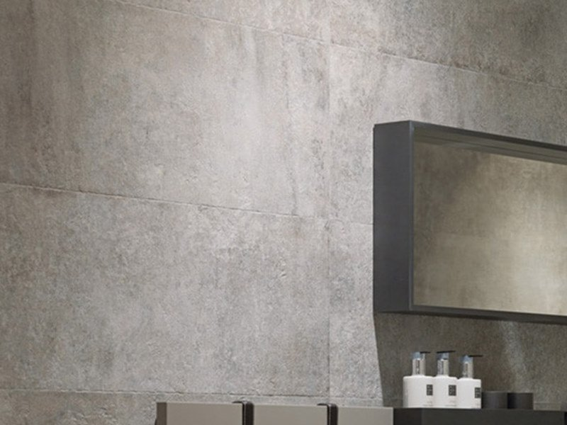 Wall/floor tiles with concrete effect CANNES GRAY by Venis