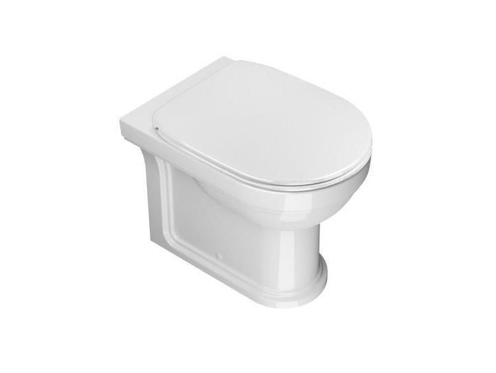 Floor mounted ceramic toilet CANOVA ROYAL | Floor mounted toilet by CERAMICA CATALANO