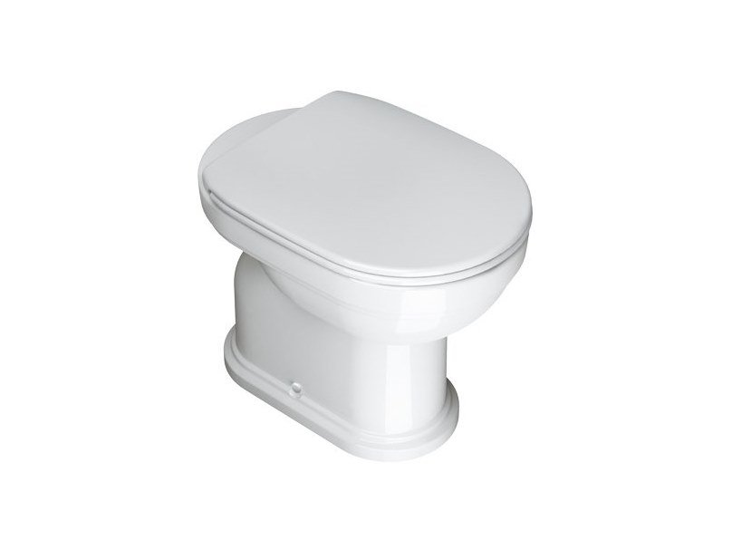 Floor mounted ceramic toilet CANOVA ROYAL | Toilet by CERAMICA CATALANO