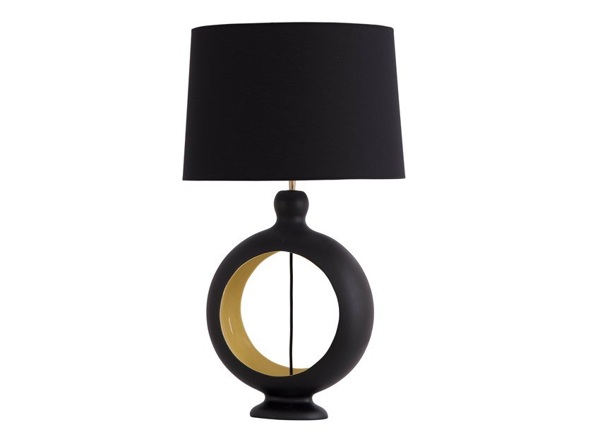 Ceramic table lamp CANTIL by Flam & Luce