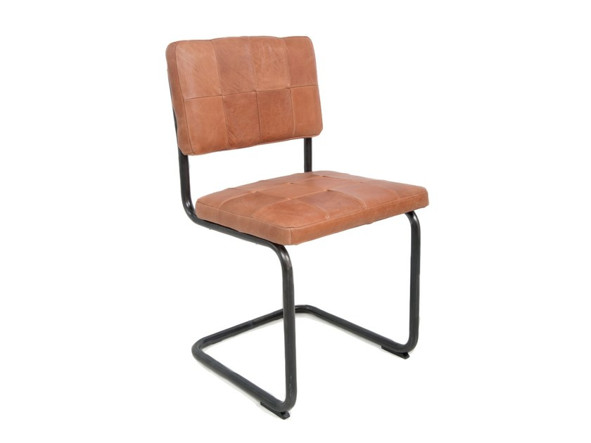 Cantilever Leather Chair NELSON | Cantilever Chair By Jess Design