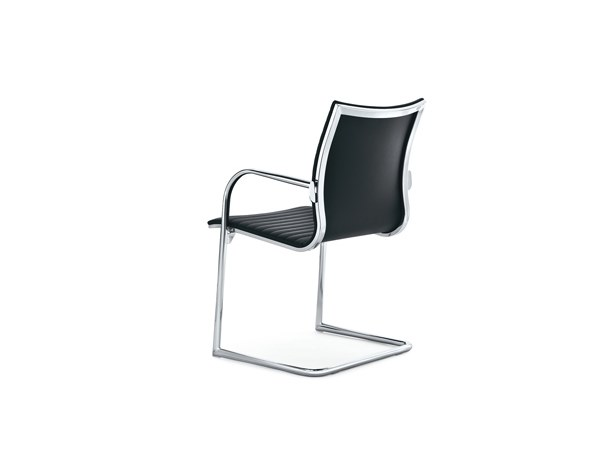 Cantilever training chair with armrests KRUNA PLUS | Chair by Kastel