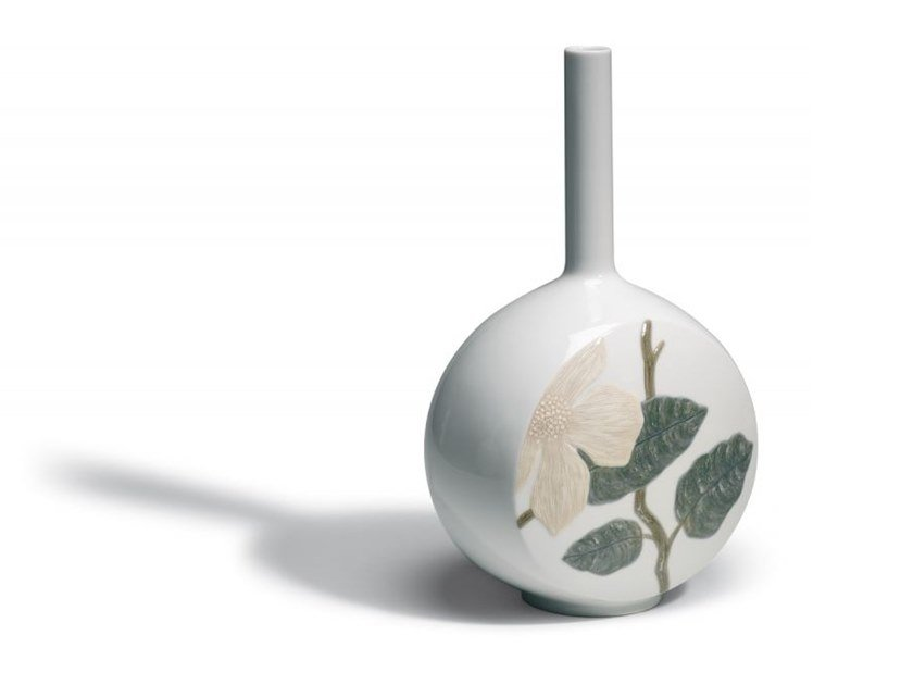 Ceramic vase CANVAS FLOWER TWIG | Ceramic vase by Lladró