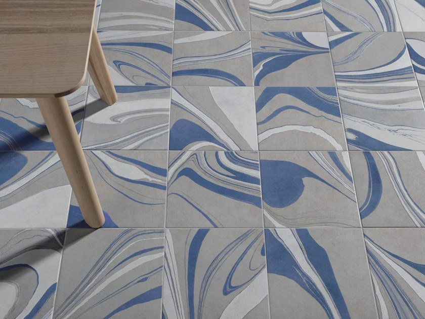Indoor/outdoor porcelain stoneware wall/floor tiles CANVAS by Harmony