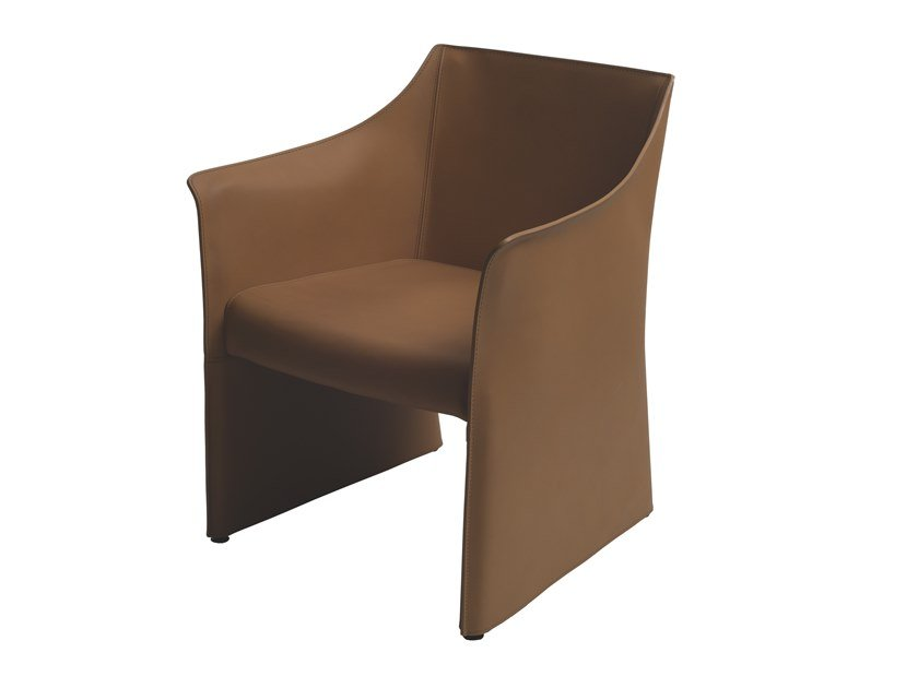 Poltroncina in cuoio CAP CHAIR 2 by Cappellini
