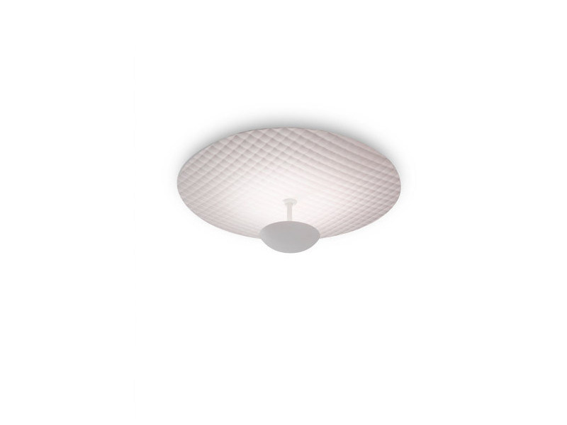 Indirect light powder coated steel ceiling lamp CAPITONE | Indirect light ceiling lamp by ALMA LIGHT